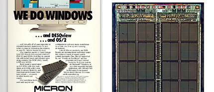 1988: Micron Reaches 1-Megabit DRAM Milestone