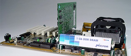2002: Micron Demonstrates Industry's First 1-Gigabit DDR on 110nm Process